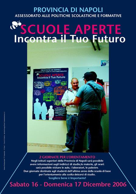 MANIFESTI REALIZZATI PER LA PROVINCIA DI NAPOLI A.S. 2006-2007 2008-2009