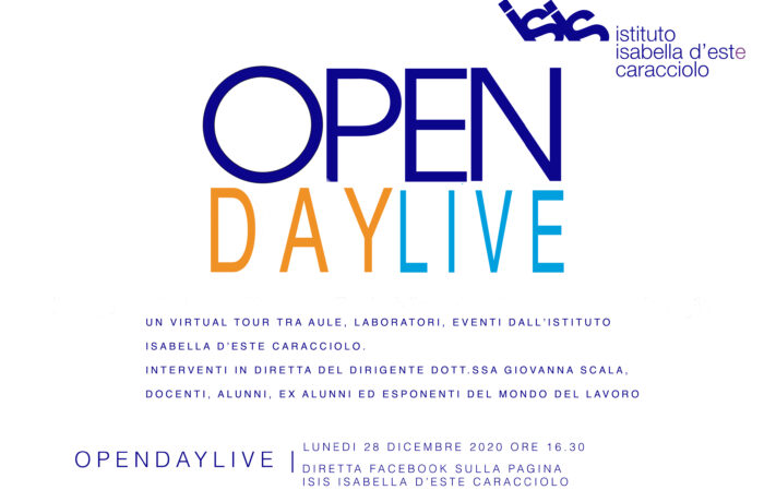 OPEN DAY LIVE 2020